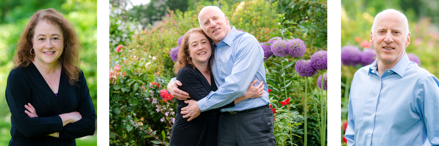 Julia Mayer and Barry Jacobs