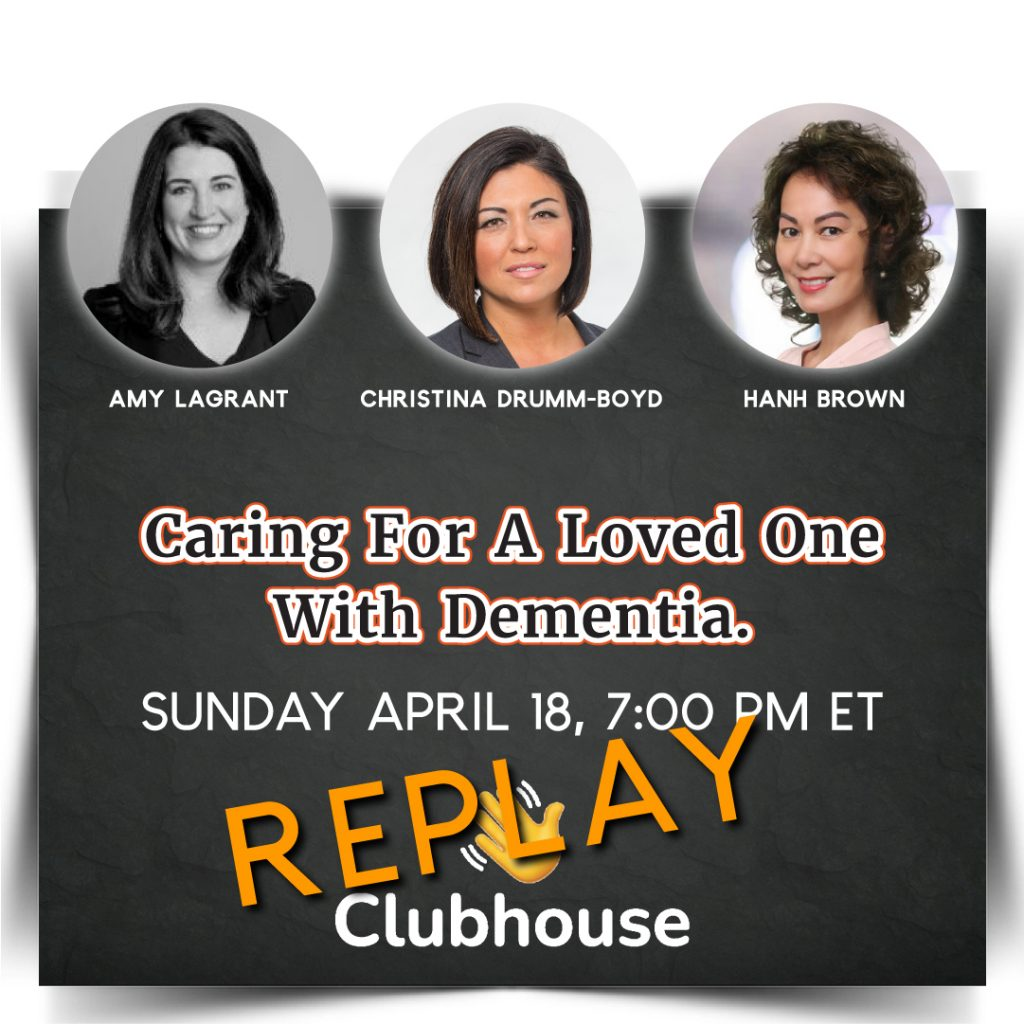 Christina Drumm-Boyd and Amy LaGrant - Caring for a Loved One with Dementia