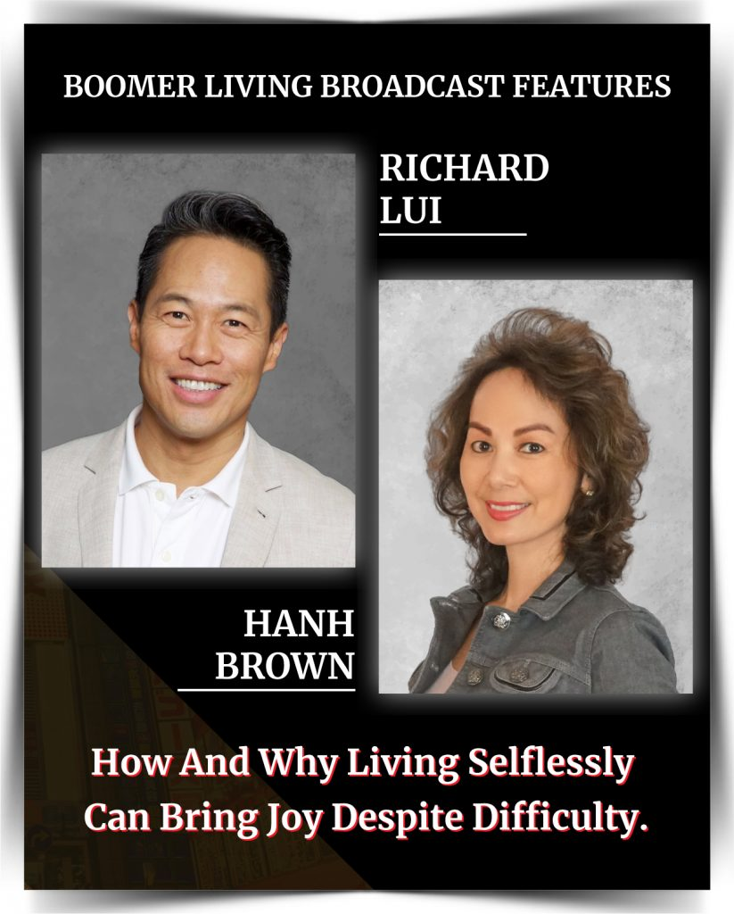 Richard Lui - How and Why Living Selflessly Can Bring Joy Despite Difficulty